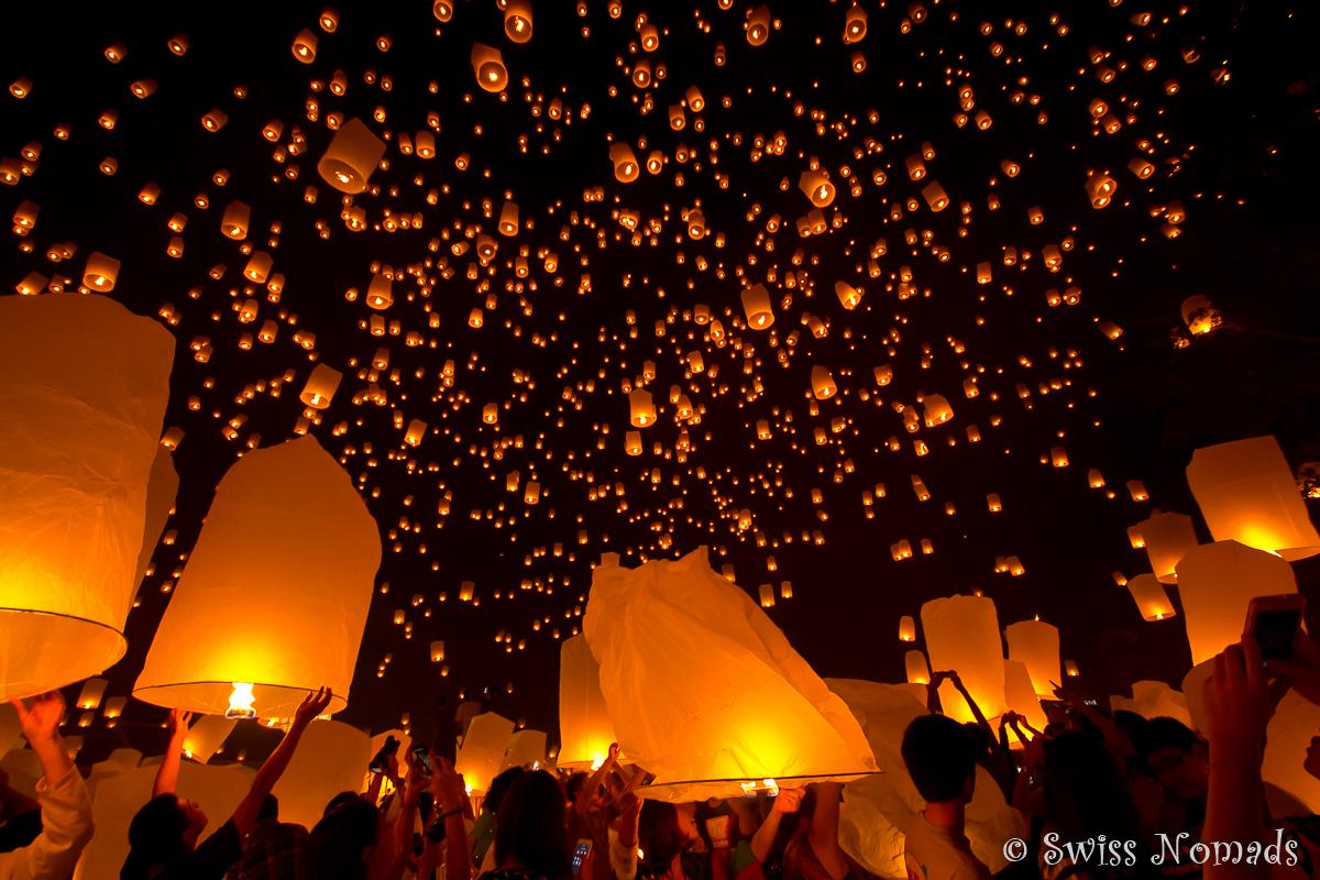 Thailand Reisetipps Loy Krathong Lichterfestival