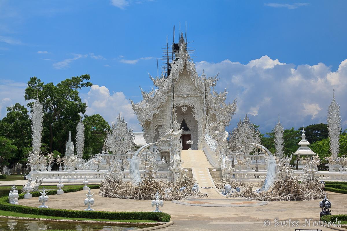 Thailand Reisetipps Weisser Tempel